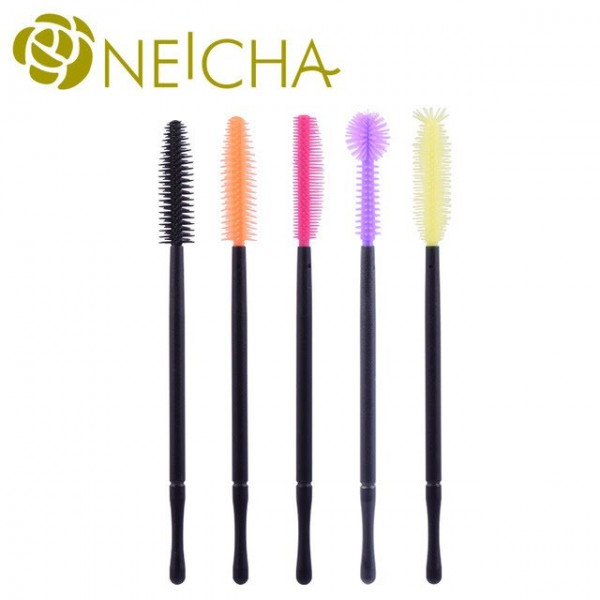 Disposable Silicone Mascara brushes x 50 pcs
