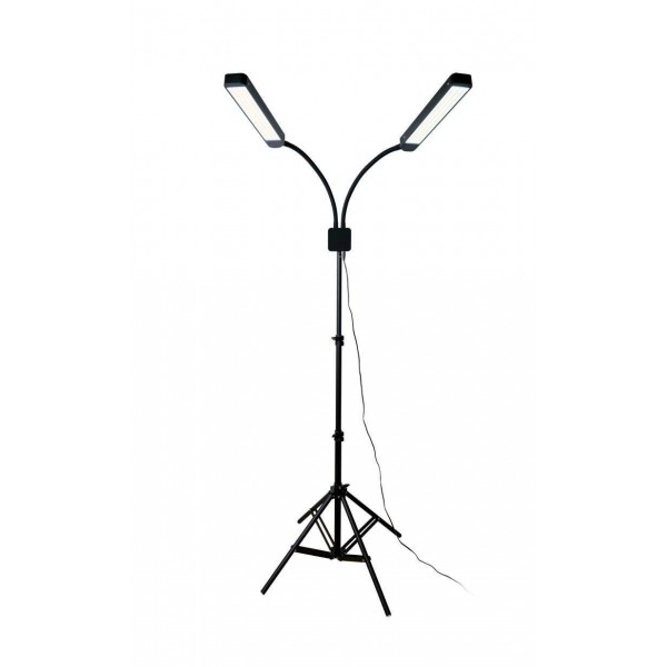 Double LED lamp by Lucas Cosmetics/CC Brow with Remote control